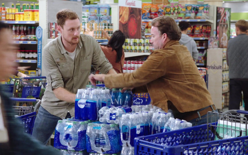 Dasani and SmartWater Water Packs in Superstore S06E01 Essential (2020)