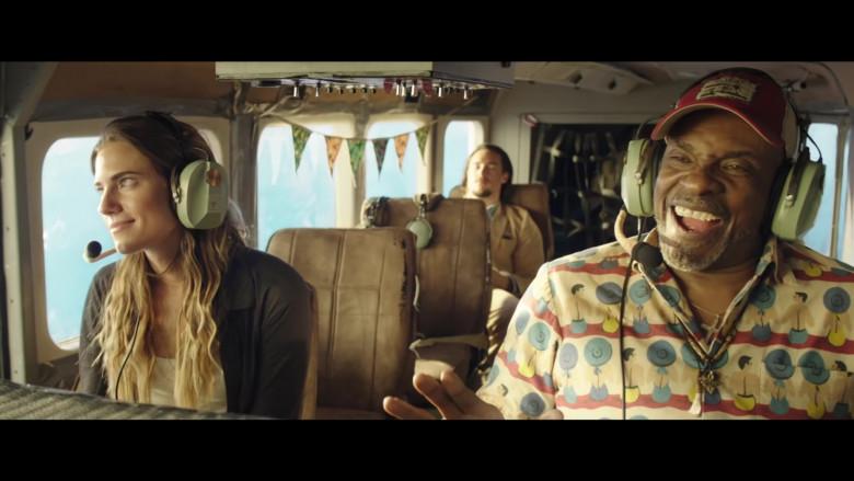 David Clark Headset of Allison Williams as Sara in Horizon Line Movie (1)