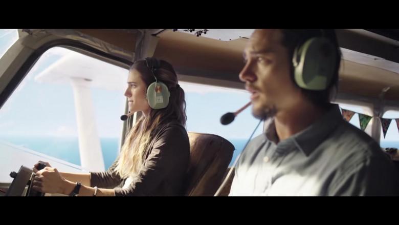 David Clark Headset of Allison Williams as Sara in Horizon Line Movie (2)