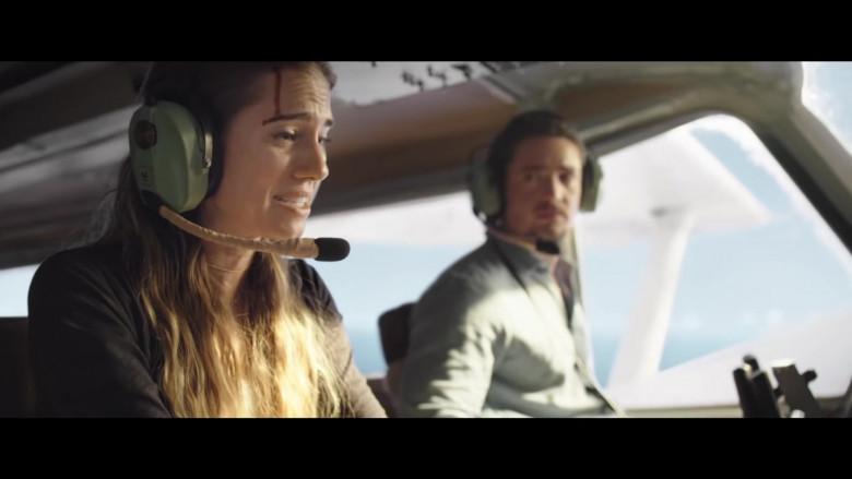 David Clark Headset of Allison Williams as Sara in Horizon Line Movie (3)
