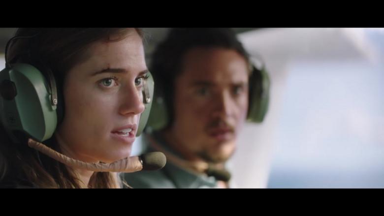 David Clark Headset of Allison Williams as Sara in Horizon Line Movie (4)
