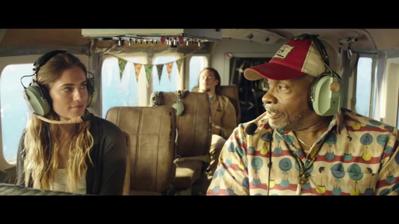 David Clark Headset of Keith David as Wyman in Horizon Line (2020)