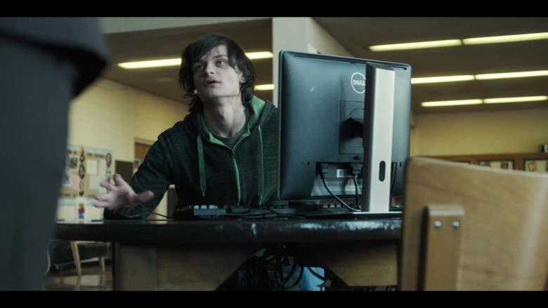 Dell Monitor Used by Charlie Tahan as Nick in Monsterland S01E02