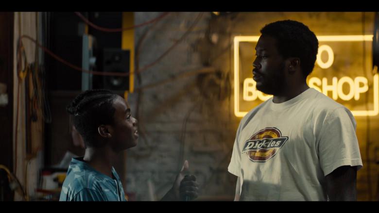 Dickies T-Shirt of Meek Mill as Blax in Charm City Kings (2020)
