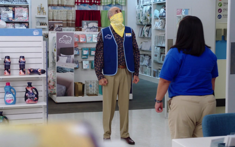 Downy Fabric Softeners Produced by Procter & Gamble in Superstore S06E01 Essential (2020)