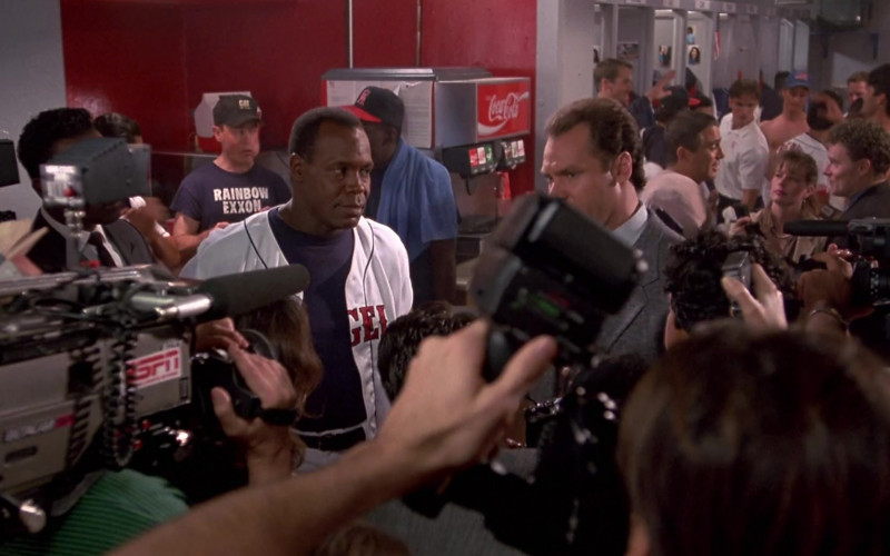 ESPN TV Channel and Coca-Cola Machine in Angels in the Outfield (1994)