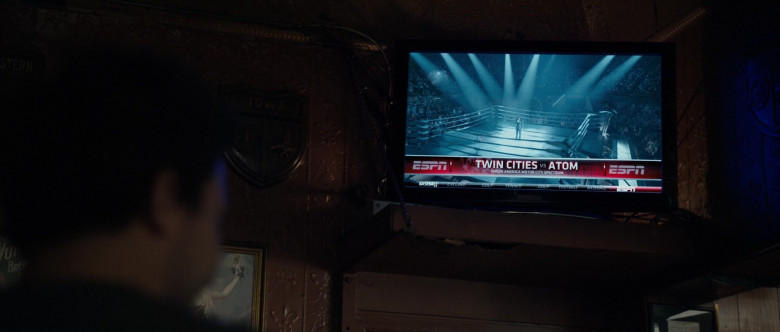 ESPN TV Channel in Real Steel (1)