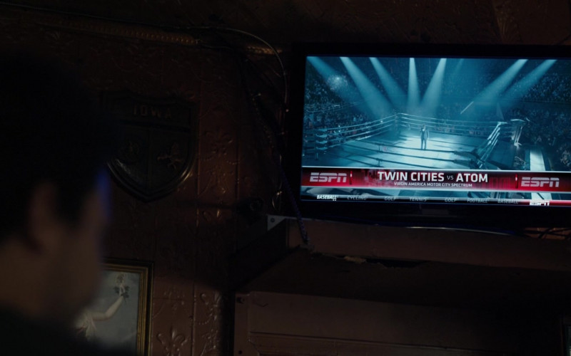 ESPN TV Channel in Real Steel (1)