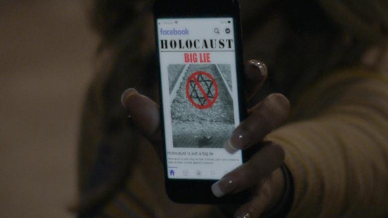 Facebook Social Network in Borat Subsequent Moviefilm (2020)