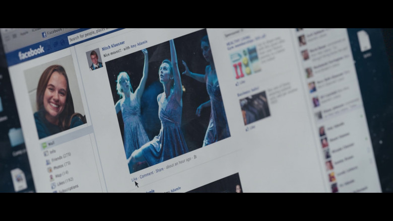 Facebook Website in Clouds (2020)