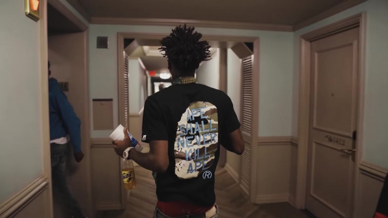Fanta Soda Enjoyed by NBA YoungBoy in The Story of O.J. (Top Version) (1)