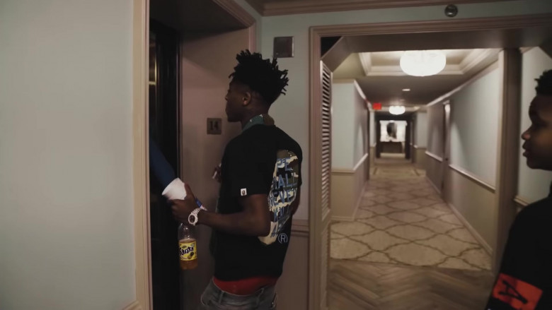 Fanta Soda Enjoyed by NBA YoungBoy in The Story of O.J. (Top Version) (2)