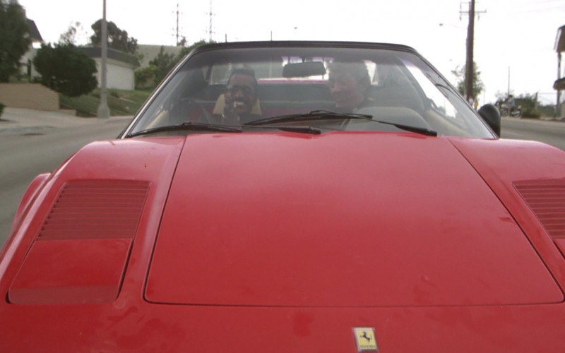Ferrari 308 GTS Red Sports Car in The Cannonball Run (4)