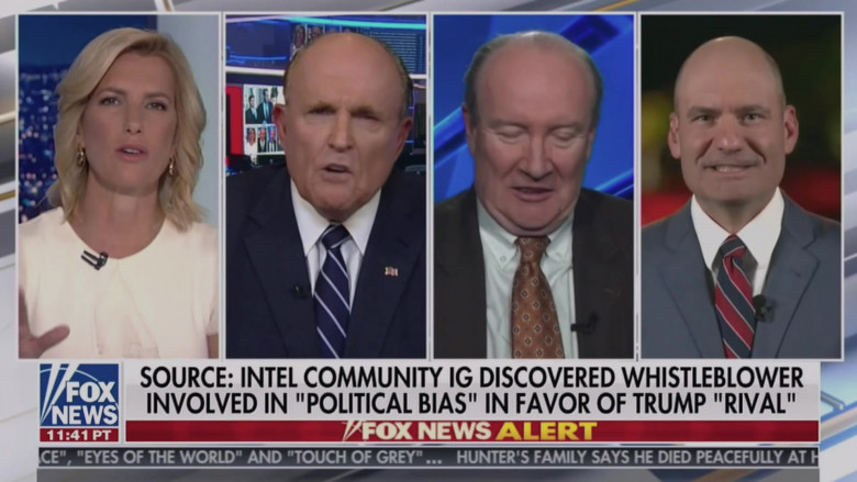 Fox News TV Channel in Borat Subsequent Moviefilm (2020)