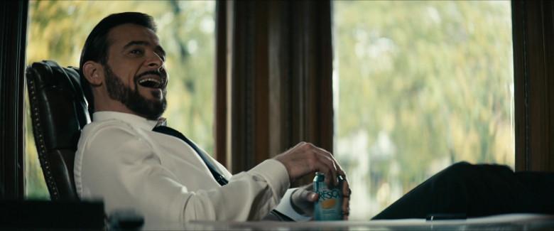 Fresca Drink Enjoyed by Goran Višnjić as Alistair Adana in The Boys S02E08 (2)