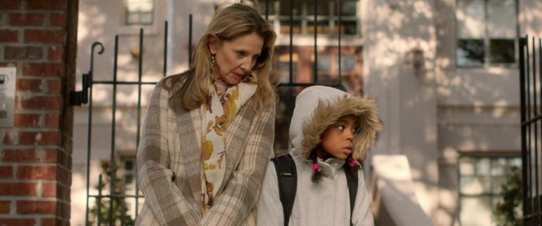 Fuel Backpack of Amanda Christine as Ava in Black Box (2020)