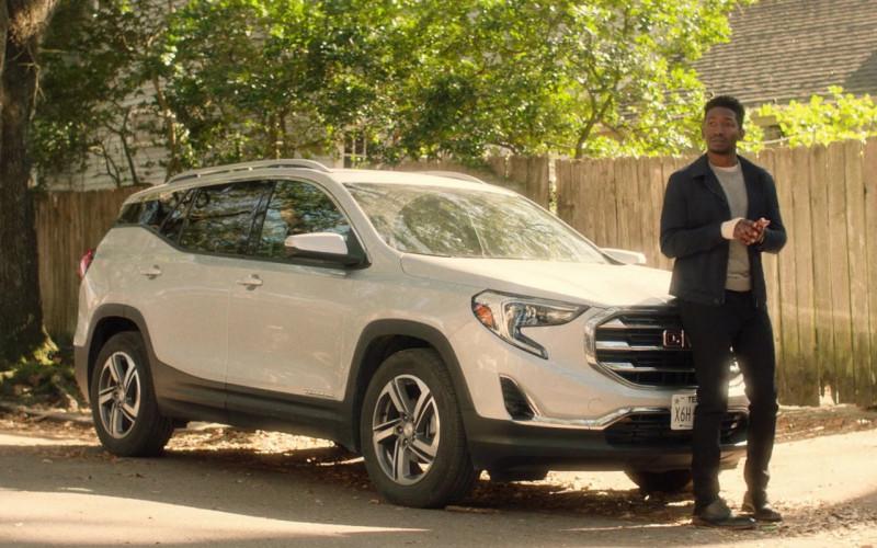 GMC Terrain White SUV of Mamoudou Athie as Nolan in Black Box Movie (2)