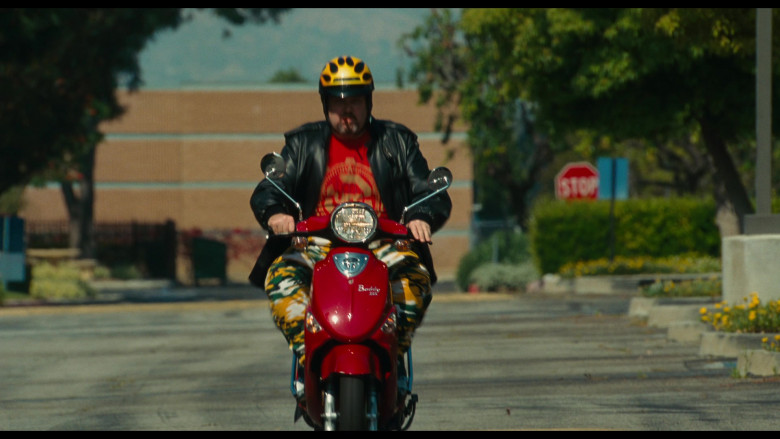 Genuine Buddy 125 Red Scooter of Eric Stonestreet as Kirk in Bad Teacher (2011)