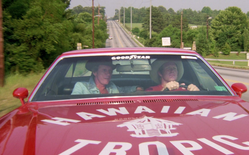GoodYear and Hawaiian Tropic in The Cannonball Run (1981)