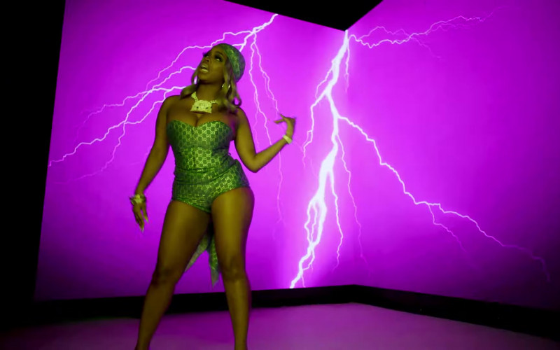 """Gucci Women's Clothes in """"Said Sum"""" Remix by Moneybagg Yo ft. DaBaby & City Girls (1)"""
