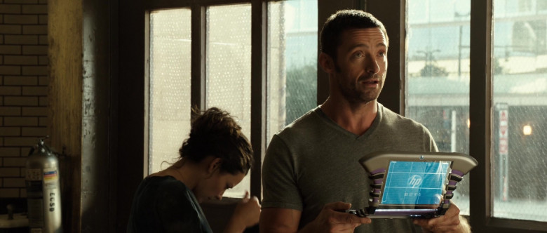 HP Futuristic Tablet PC of Hugh Jackman as Charlie Kenton in Real Steel (1)