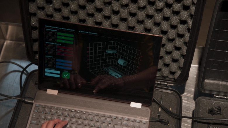 HP Laptop in Welcome to Sudden Death Movie (1)