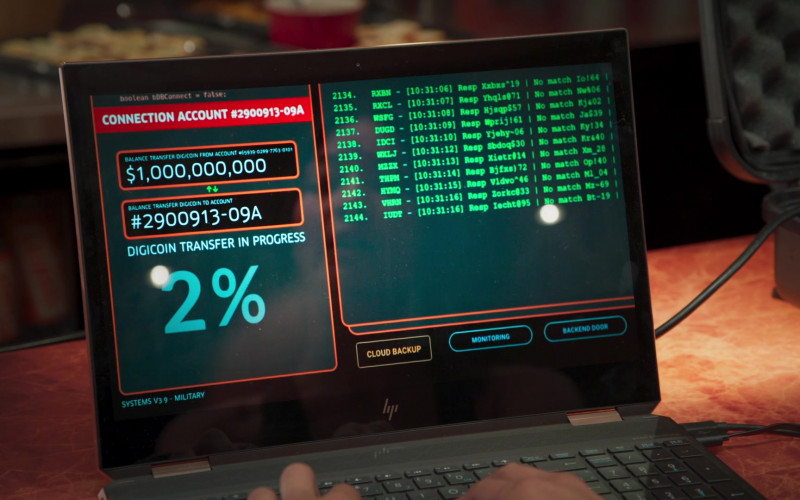 HP Laptop in Welcome to Sudden Death Movie (4)