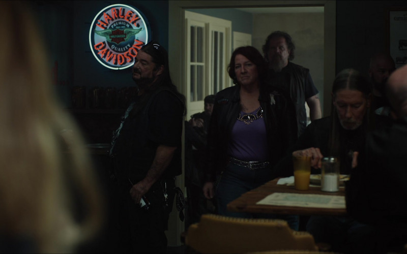 Harley-Davidson Sign in The Glorias (2020)