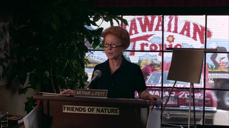Hawaiian Tropic in The Cannonball Run (1981)