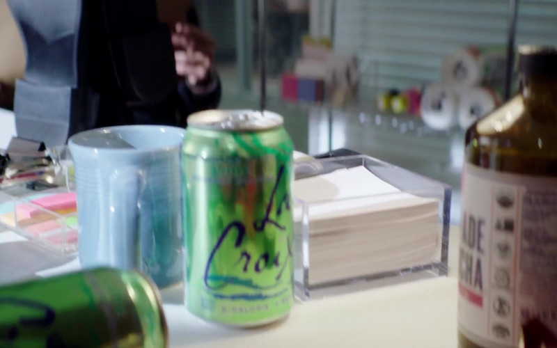 Health-Ade Kombucha and LaCroix Drinks of Josephine Langford as Tessa Young in After We Collided (1)