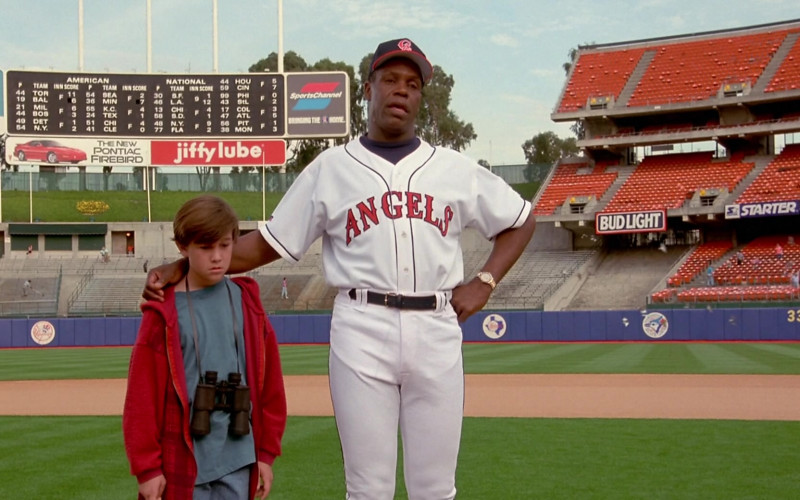 Health Net, Pontiac Firebird, SportsChannel, Bud Light, Starter in Angels in the Outfield (1994)