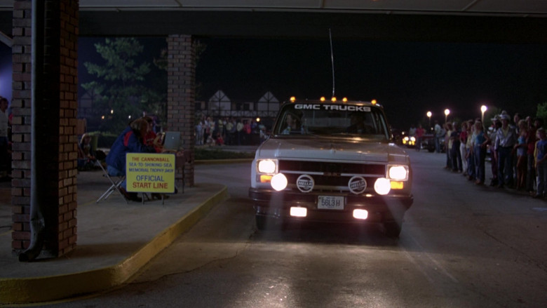 Hella Lights in The Cannonball Run (1981)