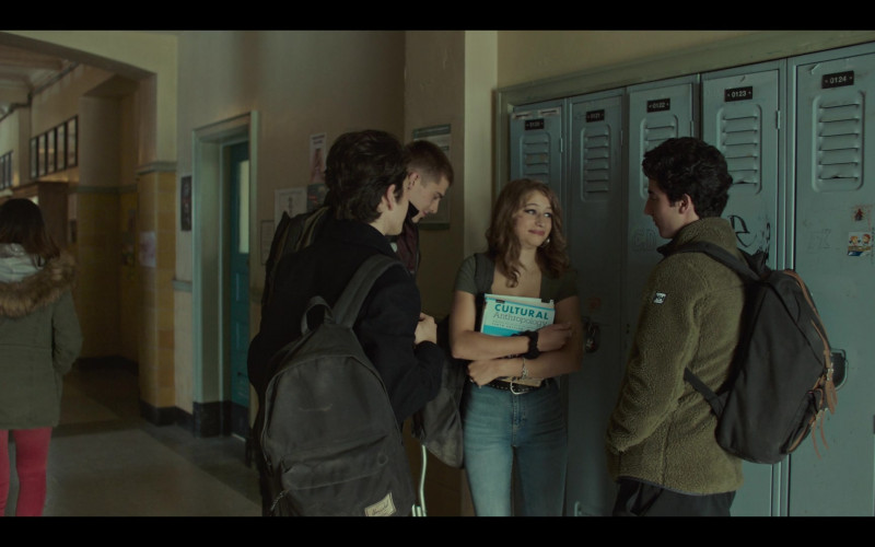 Herschel Backpack of Thelonius Serrell-Freed as Tim Delaney in Grand Army S01E04