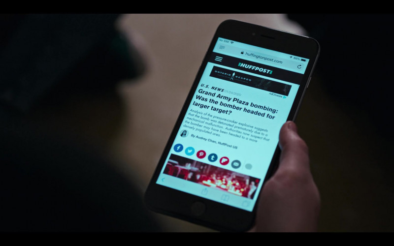 HuffPost Website in Grand Army S01E01 Brooklyn, 2020 (2020)