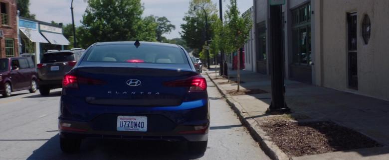 Hyundai Elantra Blue Car in After We Collided (2020)