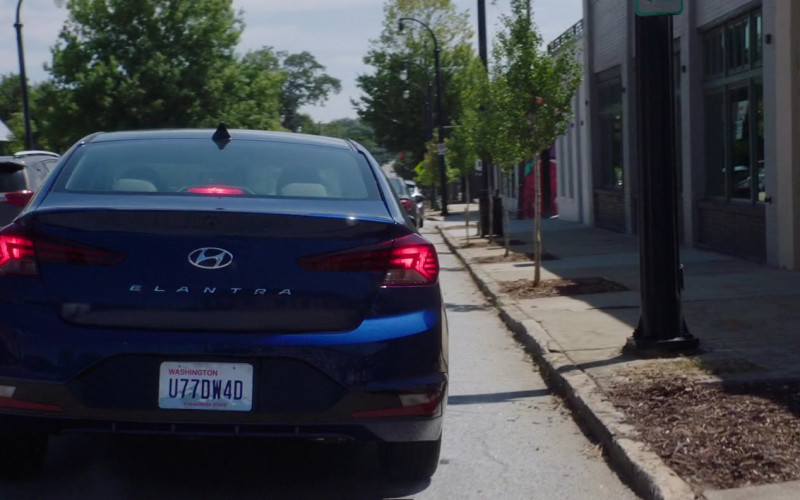 Hyundai Elantra Blue Car in After We Collided (2020)