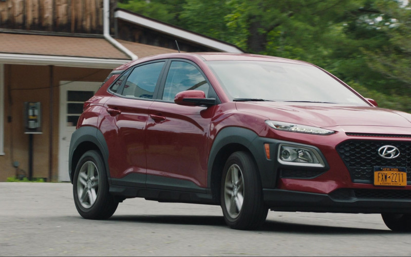 Hyundai Kona Red Car in Save Yourselves! (2020)