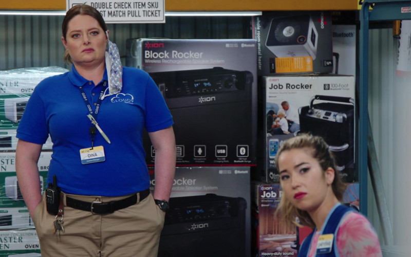 ION Audio Block Rocker and Job Rocker Speakers in Superstore S06E01
