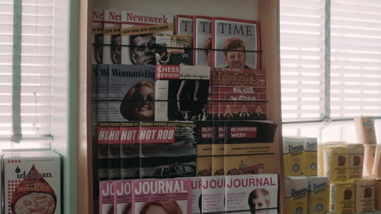 Idahoan Mashed Potatoes, Newsweek, Time, Woman's Day, Mad, Hot Rod, BusinessWeek Magazines, Domino