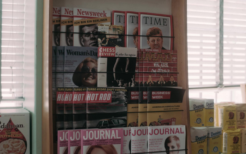 Idahoan Mashed Potatoes, Newsweek, Time, Woman's Day, Mad, Hot Rod, BusinessWeek Magazines, Domino