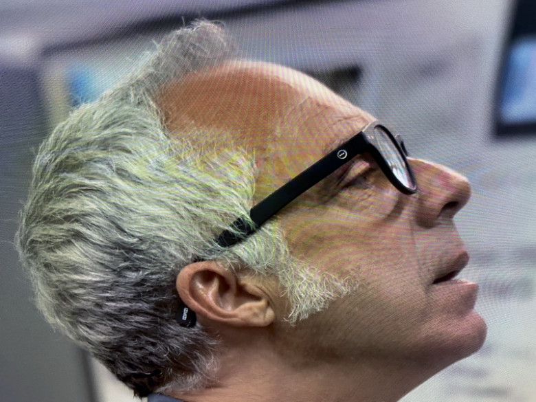 Izipizi #C Black Reading Glasses of Titus Welliver as Los Angeles Police Detective Harry in Bosch (1)
