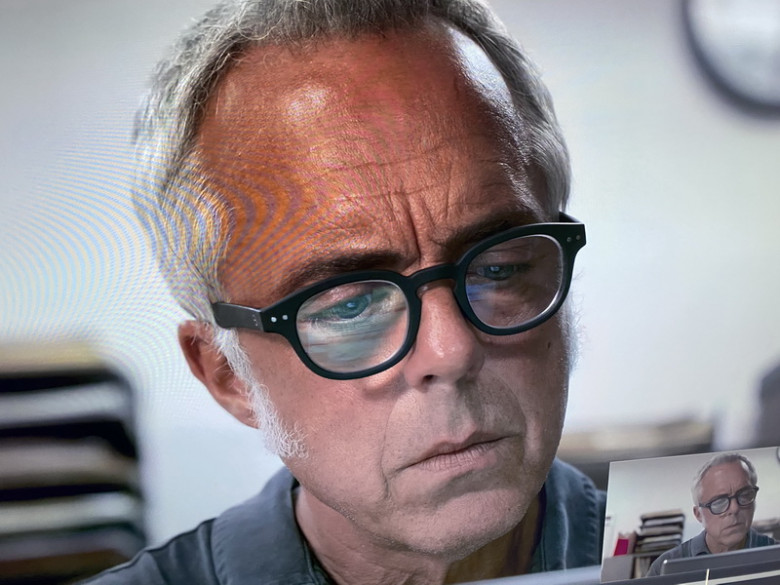 Izipizi #C Black Reading Glasses of Titus Welliver as Los Angeles Police Detective Harry in Bosch (2)