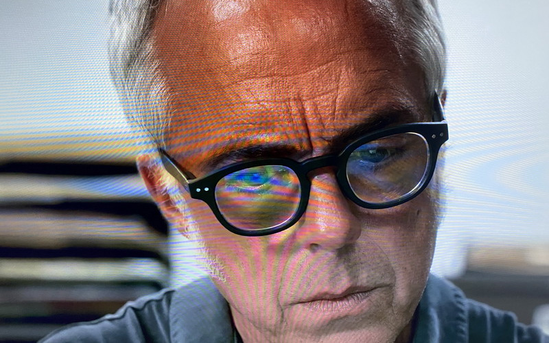 Izipizi #C Black Reading Glasses of Titus Welliver as Los Angeles Police Detective Harry in Bosch (4)