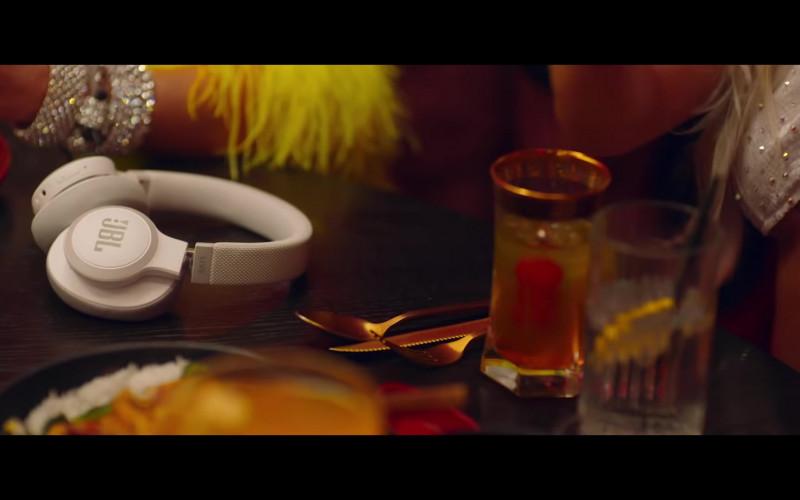 JBL Headphones (White) in Baby, I'm Jealous by Bebe Rexha feat. Doja Cat (2020)