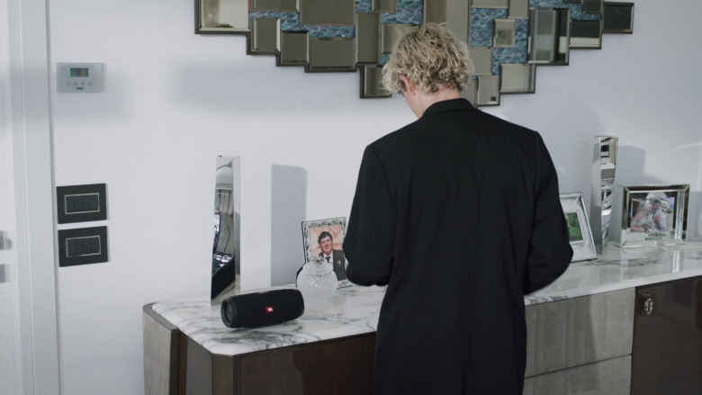 JBL Wireless Speaker in We Are Who We Are Episode 4 (2020)