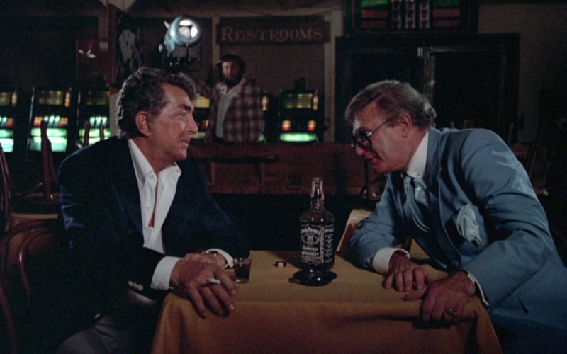 Jack Daniel's Whiskey Bottle in Cannonball Run II (1)