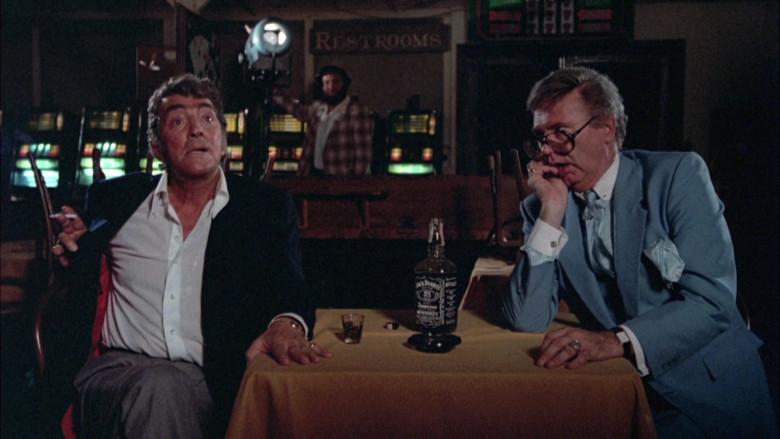 Jack Daniel's Whiskey Bottle in Cannonball Run II (2)