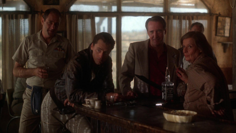 Jack Daniel's Whiskey Enjoyed by Sam Shepard as Chuck Yeager in The Right Stuff 1983 Movie (2)