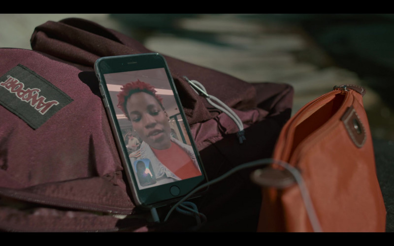 JanSport Backpack Used by Odley Jean as Dom in Grand Army S01E07