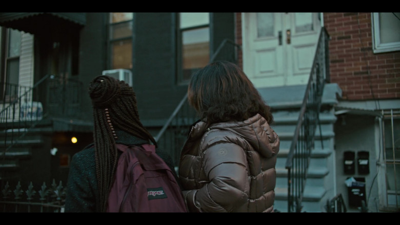 JanSport Backpack of Odley Jean as Dominique Pierre in Grand Army S01E09 (1)